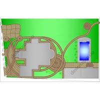 Дизайн-проек дорожек, площадок, террас и патио