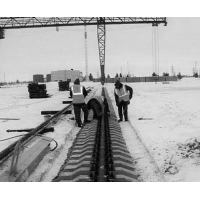 Рихтовка, выправка подкрановых путей кранов мостовых, козловых, башенных, кран балок