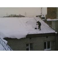 Чистка снега с крыш. Удаление сосулек и наледи