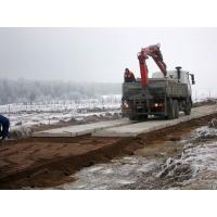 Монтаж дорожных (бетонных) плит