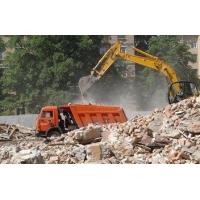 Слом (демонтаж) сооружений и вывоз мусора с территории