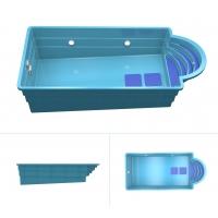 Продажа, установка композитного бассейна под ключ