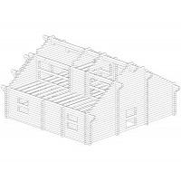 Проектирование деревянных домов на лицензионном программном обеспечении «К3-Коттедж».