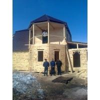 строим дома гаражи бани из своего материала
