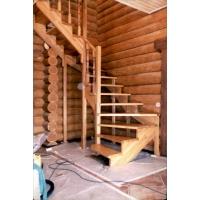 Лестницы деревянные изготовление