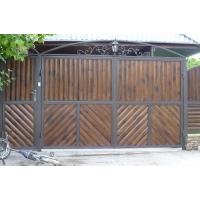 Забор, ворота из дерева под ключ от производителя