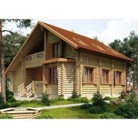 Строительство дома Байкал 178 из оцилиндрованного бревна
