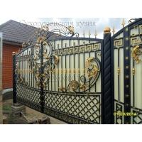 Изготовление и монтаж - кованные ворота, калитки, заборы