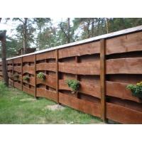 Деревянный забор «Гризли»