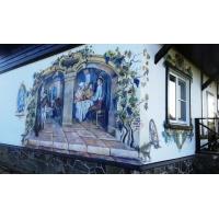Художественная роспись стен,потолков,фасадов домов