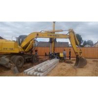 Установим свайные фундаменты для строительства дома, коттеджа под ключ