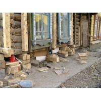 Подъем домов, ремонт фундамента, заливка отмостков