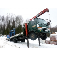 Аренда крана манипулятора в Санкт-Петербурге и Ленинградской области