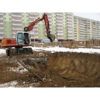Разработка грунта, рытье котлованов, траншей