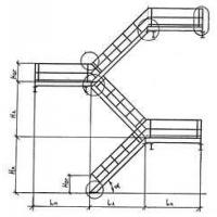 Изготовление стальных лестничных маршей типа ЛГВ по серии 1.450.3-7.94.2)