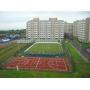 Строительство спортивных сооружений, стадионы, теннисный корт, детские и игровые площадки, футбольное поле, хоккейный корт, наливное и рулонное спортивное резиновое покрытие   Владивосток