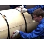 Работы по гидро-теплоизоляции труб   Украина