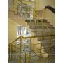 Алюминиевые перила, поручни  и ограждения для лестниц.   Москва