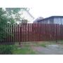 Забор из металлического штакетника   Тюмень