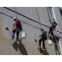Фасадные, штукатурные работы промышленными альпинистами в Ижевске   Ижевск