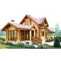 Строительство деревянных домой из оцилиндрованного бревна   Москва