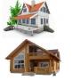 Строительство домов из дерева,кирпича,бруса,пеноблоков,а также рубленнные  и каркасные дома   Владимир