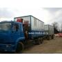 Доставка перевозных бань, бытовок и блок-контейнеров   Москва
