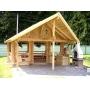 Строительство деревянных домов, бань, беседок из оцилиндрованного бревна.   Украина