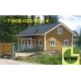 Строительство деревянных брусовых домов, бань. Профилированный брус   Красноярск