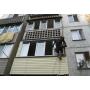 Обшивка (отделка) балкона снаружи. Утепление лоджии   Новосибирск