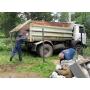 Вывоз строительного мусора самосвалом   Смоленск