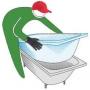 Акриловый вкладыш в ванну. Ванна-вставка. Нижний Новгород   Нижний Новгород