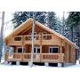Строительство деревянных домов и коттеджей от оцилиндрованного бревна   Тюмень
