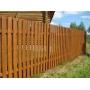 Забор из штактеника - деревянный   Тюмень