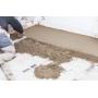 Бетонные полы. Устройство цементно-песчанной стяжки   Москва
