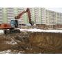 Разработка грунта, рытье котлованов, траншей   Москва
