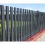Забор из штакетника - металический   Тюмень