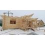 Проект дома из оцилиндрованных бревен №279   Москва