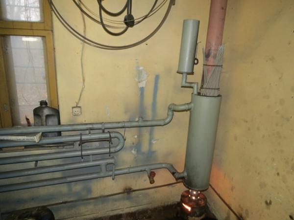 Как в гараже сделать отопление водяное