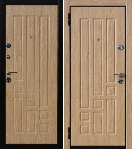 дверь входная мдф метал