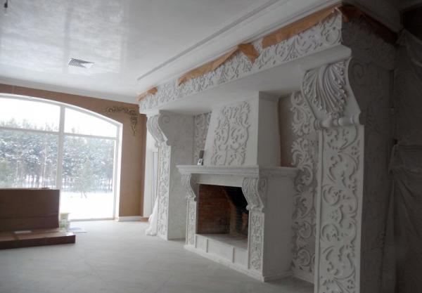 Декоративный портал для камина Ульяновск - MirStroek.Ru