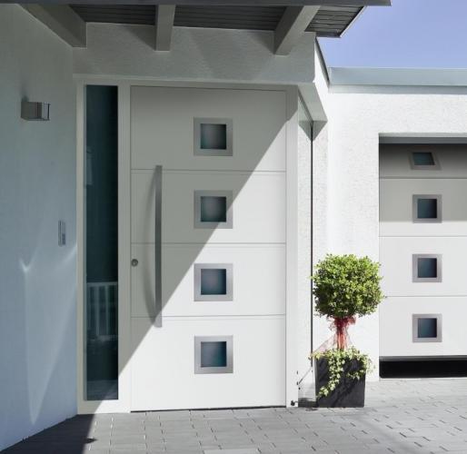входные двери для квартиры в стиле хайтек