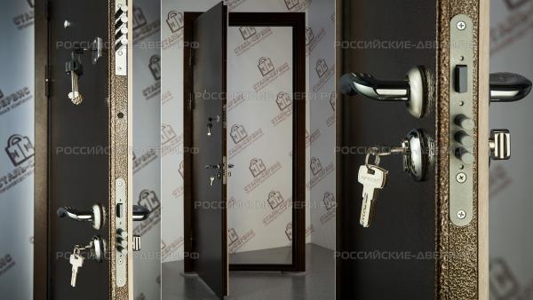 тамбурные металлические двери с завода