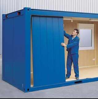 Блок контейнер из бытовки