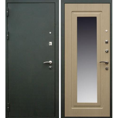 двери входные металлические элит с зеркалом