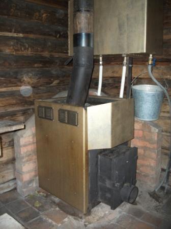 Для бани печи на дровах длительного горения своими руками