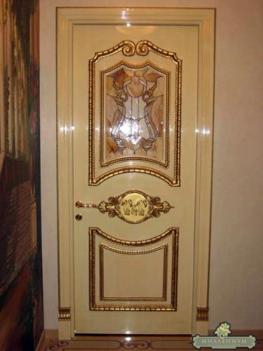 изготовление и установка металлических дверей арочного типа в истре