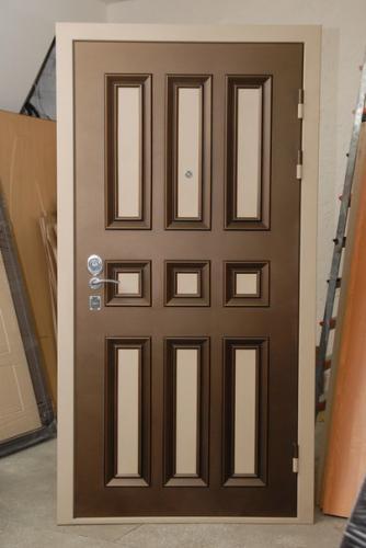 цветная филенка на стальные двери