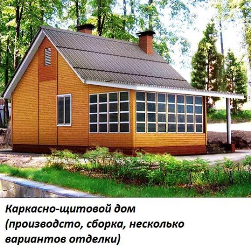 Каркасно щитовые дома в чебоксарах