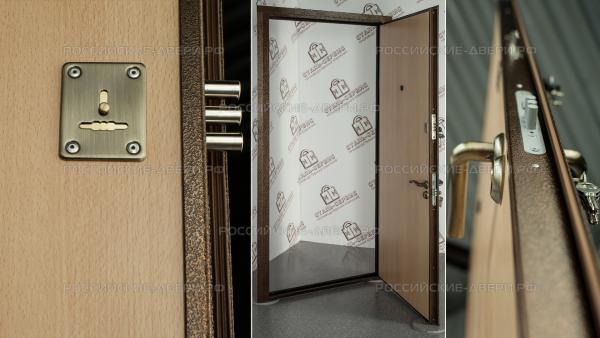 монтаж входных дверей сталь